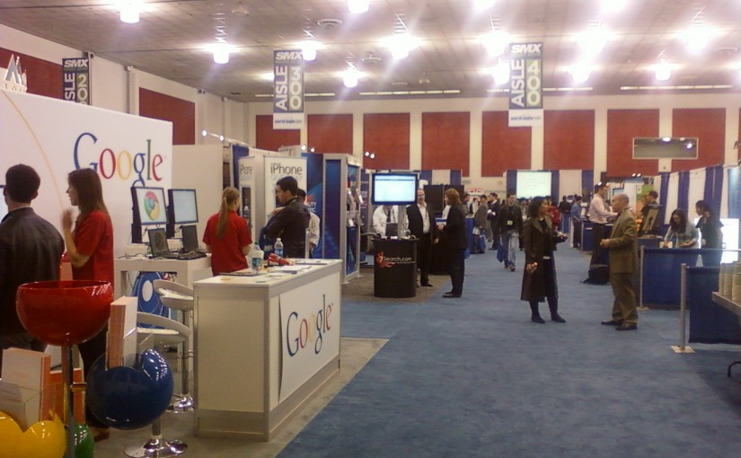 Talal Melhem @ SMX West 2011 Expo San Jose Convention Center
