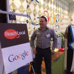Talal Melhem at the Google Campus | Reachlocal San Jose